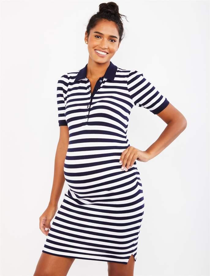 2691a7b319f Striped Maternity Dress - ShopStyle