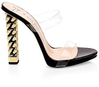 Giuseppe Zanotti Rita Ora Chain Heel Sandals