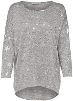 Only Heathered Long-Sleeve Pullover