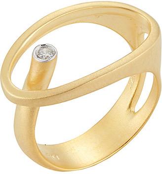 I. Reiss 14K Diamond Ring