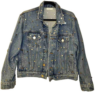 Sandro Blue Denim - Jeans Jackets