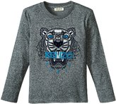 Kenzo Axel Tee Shirt (Toddler/Kid) - Charcoal Grey - 5 Years
