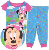 Disney Minnie Mouse Picnic Basket Cotton Pajamas for Infant and Toddler Girls