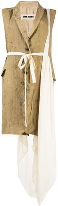 UMA WANG Sleeveless Belted Coat