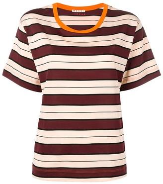 Marni striped pattern T-shirt