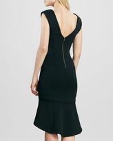 Tracy Reese High-Low Neoprene Dress