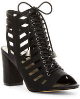 Michael Antonio Jules Lace-Up Cutout Sandal