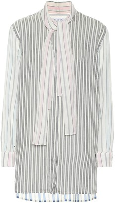 J.W.Anderson Cotton and silk-blend shirt