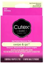 Cutex Swipe and Go Remover Pads - 10ct