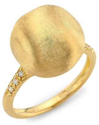 Marco Bicego 18K Yellow Gold & Diamond Cocktail Ring