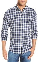 Barbour Theo Tailored Fit Plaid Sport Shirt