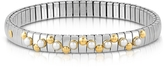 Nomination Stainless Steel Women's Bracelet w/White Pearls