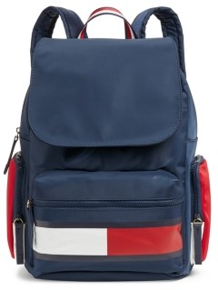 Tommy Hilfiger Allie Colorblock Flap Backpack