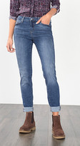 Esprit OUTLET vintage-finish skinny stretch jeans
