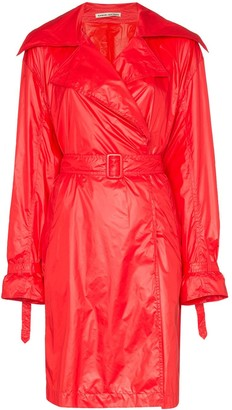 BRIGITTE belted trench coat