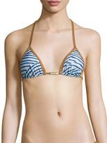 Vix Paula Hermanny Dune Piping Tri Bikini Top