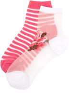 Kate Spade Rosa Sheer Sock Set