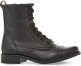 Steve Madden Leather biker boots