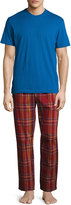 Original Penguin Two-Piece Short-Sleeve Jersey Lounge Set