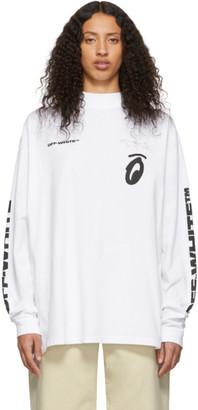 Off-White White Splitted Arrows Over Mock T-Shirt