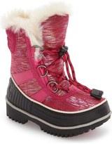 Sorel Tivoli II Waterproof Snow Boot with Faux-Fur Cuff (Toddler & Little Kid)