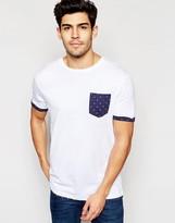 Brave Soul Star Pocket T-Shirt