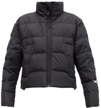 Reebok x Victoria Beckham Stand-collar Quilted Down Jacket - Black