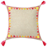 Trina Turk 20x20 Solona Embroidered Pillow - Fuchsia