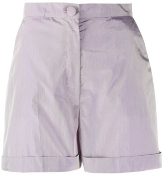 Loulou High-Waist Shorts