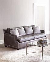 Bernhardt Mirabelle Leather Sofa