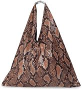 MM6 MAISON MARGIELA Japanese Snake-print Tote Bag