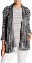 Three Dots Long Sleeve Open Front Cardigan