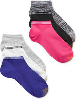 Gold Toe Women's 6-Pk. Free Feed Stripe Soft Liner Socks