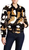 Bagatelle Faux Fur Bomber Jacket