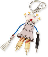 Prada Cheer Robot Keychain, Pink