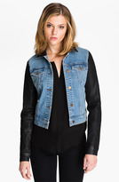 J Brand Denim Jacket (Coated Bowie)