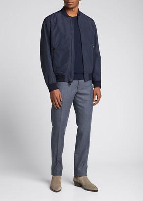 Ralph Lauren Purple Label Men's Drayton Varsity Bomber Jacket