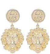 Gucci Lion earrings