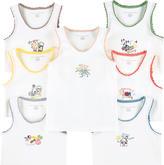 Stella McCartney Pack of 7 organic cotton tank tops