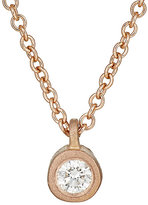 Tate Women's White Diamond Pendant Necklace-PINK, NO COLOR