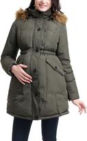Loden Nori Maternity Puffer Coat
