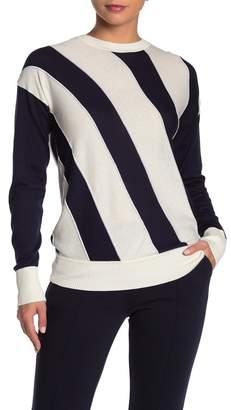 Equipment Cetine Silk Blend Striped Sweater