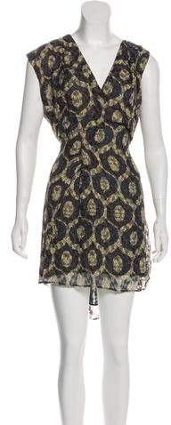 Isabel Marant Perforated Printed Dress