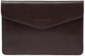 Dooney & Bourke Leather Mini Tech Envelope Clutch