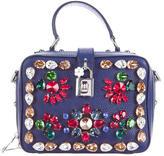 Dolce & Gabbana Embellished Leather Satchel
