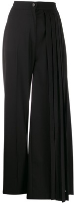 Seen Users Pleated Side Trousers