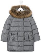 Il Gufo hooded padded coat