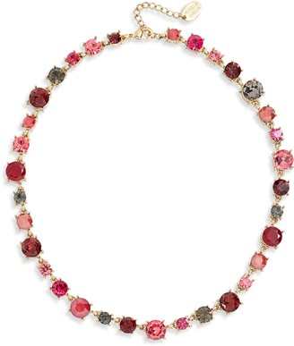 Stella + Ruby Crystal Collar Necklace
