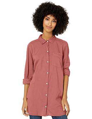 Goodthreads Lightweight Poplin Long-sleeve Button-front ShirtMedium
