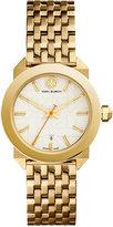 Tory Burch Women's Swiss Whitney Classic Gold-Tone Stainless Steel Bracelet Watch 35mm TRB8002